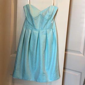 Strapless Shoshanna mini dress